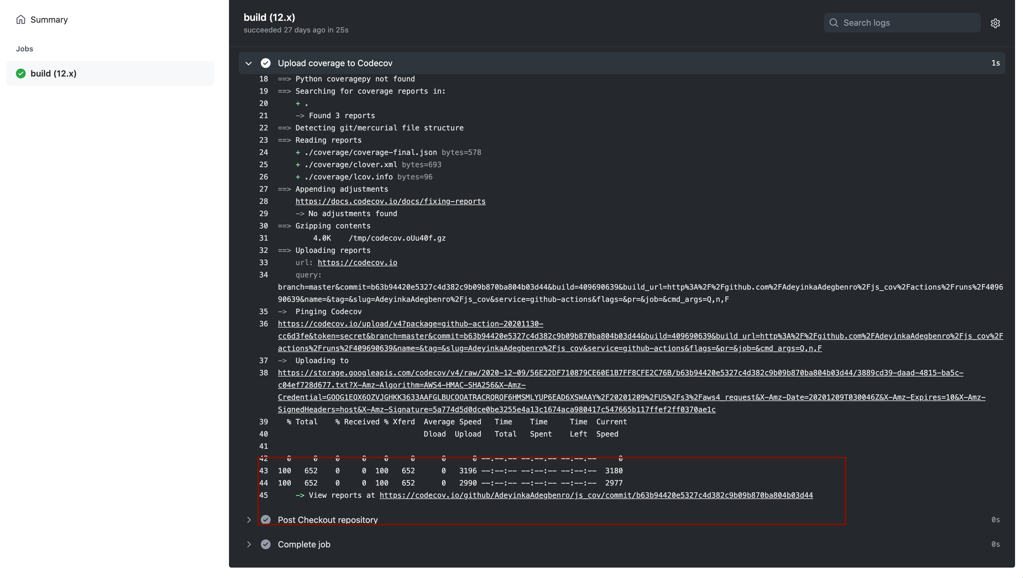 GitHub Actions Workflow Dashboard