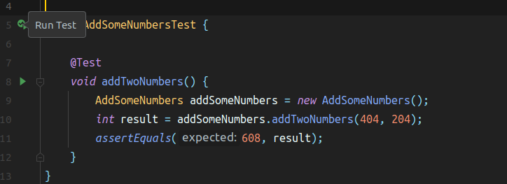 AddSomeNumbers test