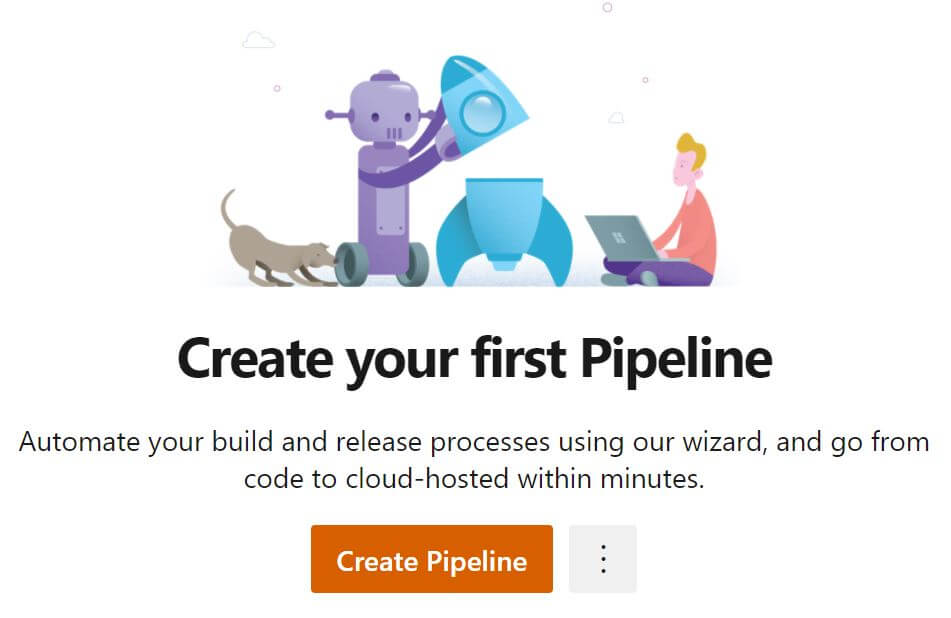 Create a pipeline in Azure